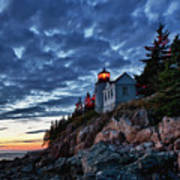Bass Harbor Lighthouse Art Print by John Greim