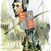 Benjamin Disraeli Art Print