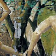 Berlin Wall Mural Art Print