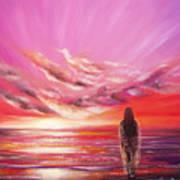 Beyond The Sunset  Art Print