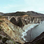 Bixby Creek Bridge Big Sur Photo By Pat Hathaway Art Print