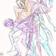 Captured Movements Art Print