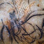 Cave Art: Mammoth Art Print