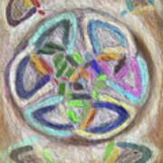Celtic Layers Art Print