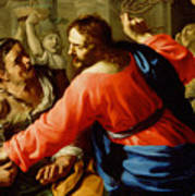 Christ Cleansing The Temple Art Print