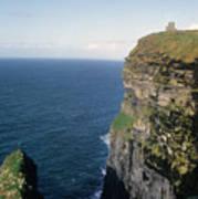 Cliffs Of Moher In Ireland Art Print