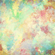Colorful Watercolor Paint On Canvas Super High Resolution And