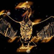 Cormorant Dries Its Wings Art Print