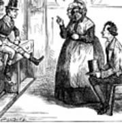 Dickens: Martin Chuzzlewit Art Print