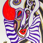 4 Faces Of Laurel - Iv Art Print