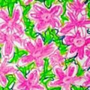 Flower Abstract  Art Print