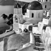 Greek Island - Santorini Art Print