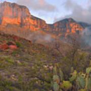 Guadalupe Mountains Sunrise Art Print