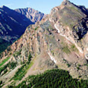 Hiking The Mount Massive Summit Art Print