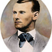 Jesse James, 1847-1882 Art Print