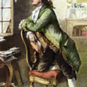 Johann Goethe, 1749-1832 Art Print