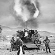 Korean War: Artillery Art Print