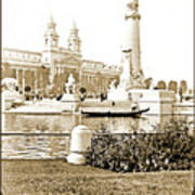 Louisiana Monument, 1904 World's Fair Art Print