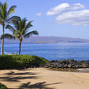 Makena, Secret Beach Art Print