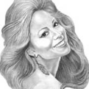 Mariah Carey  Art Print