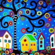 Mexican Town Art Print