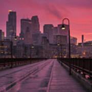 Minneapolis Skyline Art Print