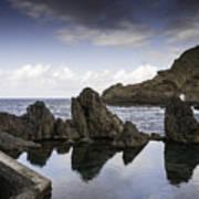 Natural Pools In Porto Moniz, Madeira Art Print