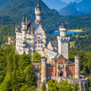 Neuschwanstein Fairytale Castle Art Print
