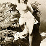 Nude Posing, C1900 Art Print