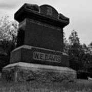 Odd Fellows Cemetery Art Print