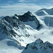 Pitztal Glacier Art Print