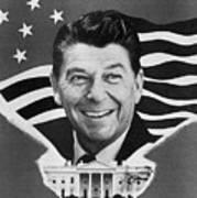 Ronald Reagan (1911-2004) Art Print