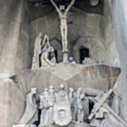 Sagrada Familia - Gaudi Designed - Barcelona Spain Art Print