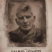 Samuel Beckett 02 Art Print