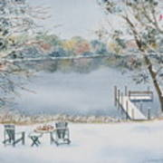 4 Seasons-winter Art Print