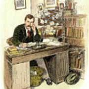 Sir Arthur Conan Doyle Art Print