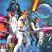 Star Wars A Poster Art Print