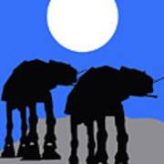Star Wars At-at Collection Art Print