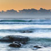 Sunrise By The Sea Art Print