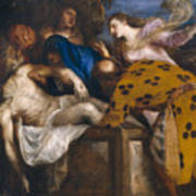 The Burial Of Christ Art Print