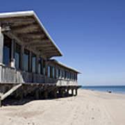 The Ocean Grill At Vero Beach In Florida Art Print