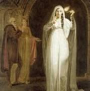 The Sleepwalking Scene Act V Scene I From Macbeth Henry Pierce Bone Art Print