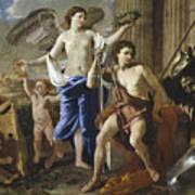 The Triumph Of David Art Print