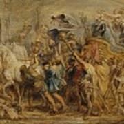 The Triumph Of Henry Iv Art Print