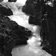 The Vintgar Gorge Art Print