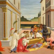 Three Miracles Of Saint Zenobius Art Print
