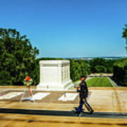 Tomb Of The Unknowns Art Print