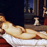 Venus Of Urbino Art Print