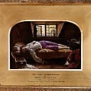 Wallis Henry The Death Of Chatterton2 Henry Wallis Art Print