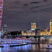 Westminster - London Art Print